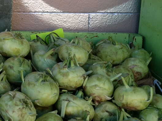 box of kohlrabi