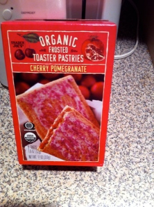 organic pop tart, I mean 'toaster pastries'