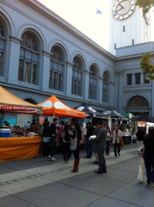 Wednesday Farmer's Market at the Ferry Building in SF